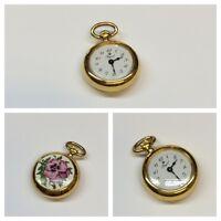 Vergoldete Taschenuhr Royal Kettenuhr Uhr Handaufzug