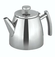 New AVANTI Modena Double Wall Insulated Stainless Steel Teapot 600ml / 1.2 Litre