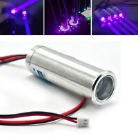 405nm 250mW Fat Dot Beam Laser Diode Module Violet/Blue LED Stage Light Bar KTV