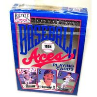1994 Major League Aces Bicycle Baseball Playing Cards Sealed in Package