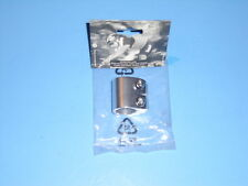 BMX Old School Tranz X  Monster 2 Bolt Collar Seatpost Clamp.1 Inch.Silv.NOS.