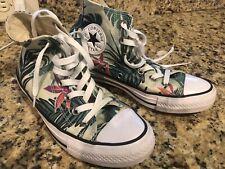 Converse AS Chuck Taylor Mens 5 Womens 7 Hi-Top Shoes Tropical Print 155395C