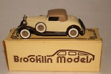 Brooklin Models, 1932 Packard Light 8 Coupe with Box