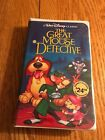 DISNEY CLASSIC THE GREAT MOUSE DETECTIVE NEW SEALED VHS VIDEO BLACK DIAMOND