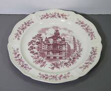 "One Historic Boston Old State House Dinner Plate 10 3/8"" - Wedgwood England"