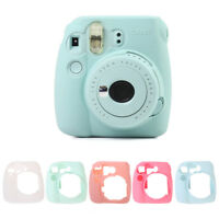 For Fujifilm Instax Mini 8/8+/9 Soft Silicone Camera Bag Jelly Case Skin Cover