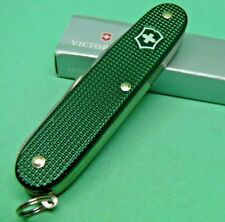 Olive Green Victorinox 93mm Alox Farmer Swiss Army Knife