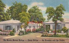 1955 LA RINDA MOTOR LODGE St. Petersburg FL Charles Sibley, Owner De Luxe Motel