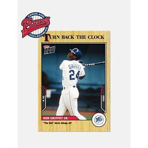 Ken Griffey Jr. - 2021 MLB TOPPS NOW® Turn Back The Clock - Card 10 Pre-Sale
