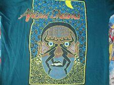 Vintage AFRICAN DREAMS dance rap hip hop 90's tribal T Shirt Adult Size 2XL
