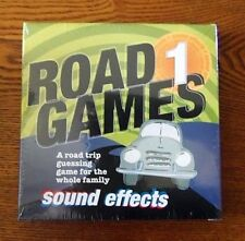 Road Games 1 Sound Effects CD  Family Fun While Traveling 4+ New In Box