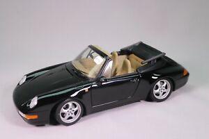 LE1102 UT MODELS 1/18 1:18 Porsche 911 carrera serie CTyp 9930 cabriolet noire