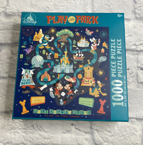 Disney Parks Mickey Minnie Mouse Play In The Park 1000 Piece Puzzle New In Hand