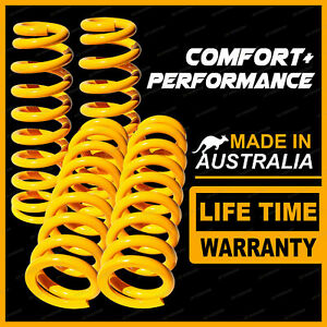 Front + Rear 50mm Raised King Coil Springs for HOLDEN COLORADO 7 2012-2016