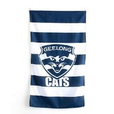 Official AFL Geelong Cats Supporters Wall Cape Banner Flag 90 x 150 cm