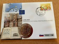 Slovenia 2010 3 euro stamp cover