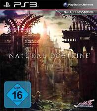 Sony PS3 Playstation 3 Spiel ***** Natural Doctrine ******************NEU*NEW*55