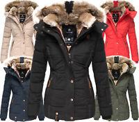 MARIKOO Damen Winter jacke Parka FVS3 Outdoorjacke Steppjacke NEKOO sehr warm