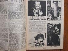 Sept.-1980 TV Times TELE-VUE (PETER  SELLERS/THE FIENDISH PLOT OF DR. FU MANCHU