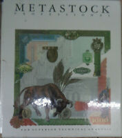 METASTOCK PROFESSIONAL, by Equis, 1989. Technical Analysis, for IBM PCs. Unused