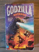 Godzilla Returns by Marc Cerasini 1996 Paperback Book Hard to Find