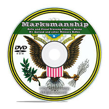 Rifle / Pistol Marksmanship, Vintage Manuals and Training Videos on DVD V55