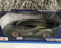 Maisto Lamborghini Sian FKP 37 Olive 1/18 Scale die-Cast metal Special Edition
