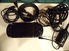 CONSOLE SONY playstation  PSP BLACK  NOIRE +jeux memory card ROMS SAUVEGARDE