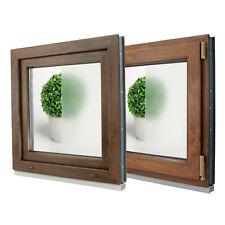 Finestre in PVC Colori NOCE o QUERCIA DORATA Aluplast ID 4000 VETRO OPACO! L:650