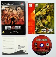 2001 Konami /sony PLAYSTATION 2 Ring Of Red Dt. Pal Boxed Battlemech/Strategy