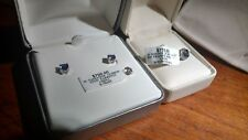Sterling Silver Natural Tanzanite Ring Size 8 w matching Earrings. $1450 list