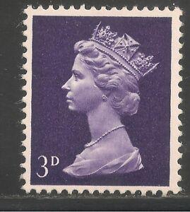 Great Britain #MH5 VF MNH - 1967 3p Queen Elizabeth II / Machin