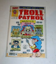 TROLL PATROL #1  HARVEY CARTOON - 1993  - ONE-SHOT