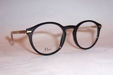 6fcf23bdf811 NEW CHRISTIAN DIOR EYEGLASSES ESSENCE 5 7C5 BLACK 49mm RX CD AUTHENTIC