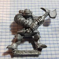 Warhammer Fantasy Battle Realms of Chaos Warrior of Chaos Axe 9 OOP