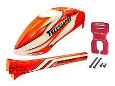 Microheli Airbrush Fiberglass Sun Fire Fuselage set - T-REX 500E PRO/PRO DFC