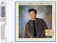 RICK ASTLEY : SHE WANTS TO DANCE WITH ME / 3 TRACK-CD (RCA RECORDS PD 42190)