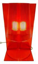Lampada da tavolo take di kartell arancione vintage modernariato