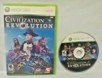 Sid Meier's Civilization Revolution Game - Microsoft Xbox 360 Rare Tested Works