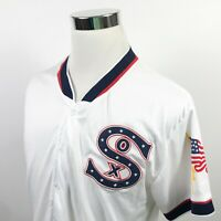 Chicago White Sox Mens Medium 4th of July Jersey Gameday Giveaway Poly APC