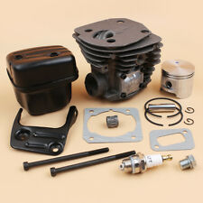 Nikasil Cylinder Piston Muffler Kit For Jonsered CS2150 CS2152 45MM Big Bore Saw