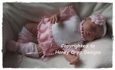 Honeydropdesigns * Tatiana Ballet Tutu * PAPER KNITTING PATTERN * Baby/Reborn