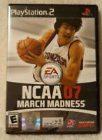 NCAA March Madness 07 (Sony PlayStation 2, 2007)