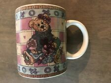 Boyds Collection 1998 Love Conquers All~Chocolate Does the Rest Teddy Bear Mug