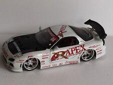 Rare Jada Mazda RX7 Apex Jap Drift Diecast 1/18 Scale Model Car
