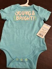 Baby Cat And Jack Baby Girl One Piece 0-3 Mos New