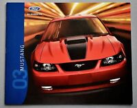 ORIGINAL 2003 FORD MUSTANG SALES BROCHURE ~ MACH 1 AND GT ~ 18 PAGES ~ 03FM