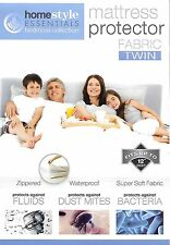 2 packs----mattress protector-Zippered Fabric Waterproof Bed Bug Allergy