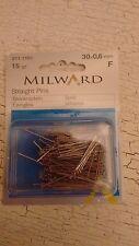 Milward 30mm acciaio sarte PIN DRITTA 15g