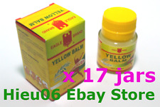 17 x Eagle Brand Yellow Balm 1.4 oz EXTERNAL ANALGESIC Ointment ache pain relief